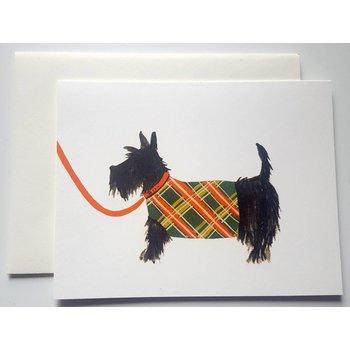 SALE Klappkarte Hundezeichnung Schnauzer
