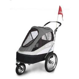Fahrradanhänger Hundebuggy InnoPet Modell Sporty Trailer bis 30kg