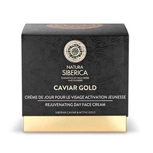 Natura Siberica Caviar Gold Rejuvenating day face cream, 50 ml