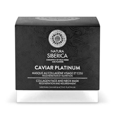 Natura Siberica Caviar Platinum Collagen face and neck mask 50 ml