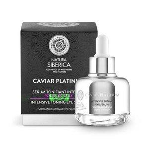 Natura Siberica Caviar Platinum Intensive toning eye serum 30 ml