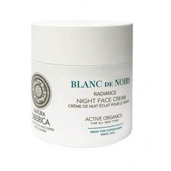 Radiance night face cream, Blanc de noirs, 50ml