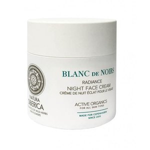 Natura Siberica Radiance night face cream, Blanc de noirs, 50ml