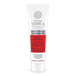 Natural Siberian toothpaste Frosty berries, 100gr