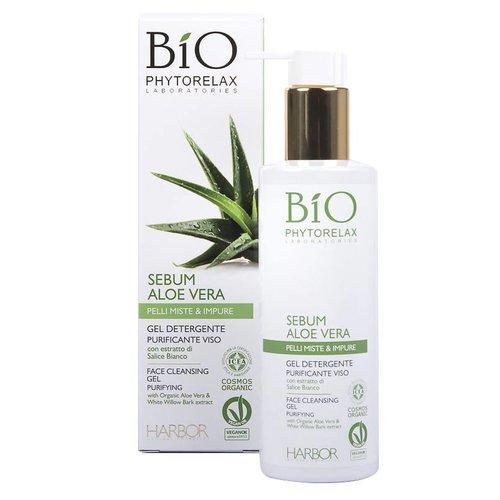 Phytorelax Sebum Aloe Vera Gel Purifying Face Cleansing Gel