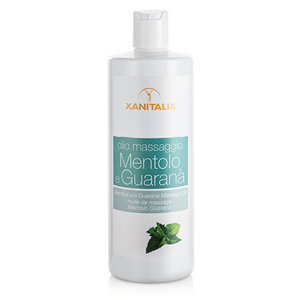 Xanitalia Massageolie menthol & guarana 500ml