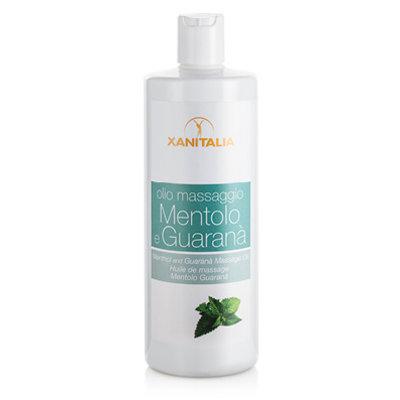 Xanitalia Massageolie menthol & guarana 500ml
