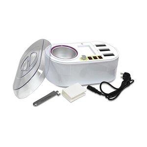 ItalWax Combi harsverwarmer voor 800ml blik en 3 harspatronen