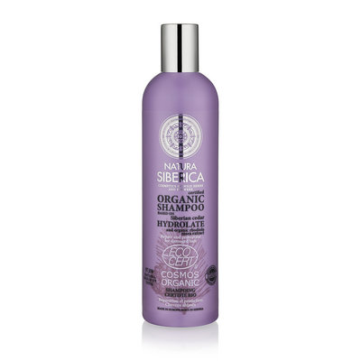 Natura Siberica Certified Organic Shampoo Repair And Protection For Damaged Hair 400ml.