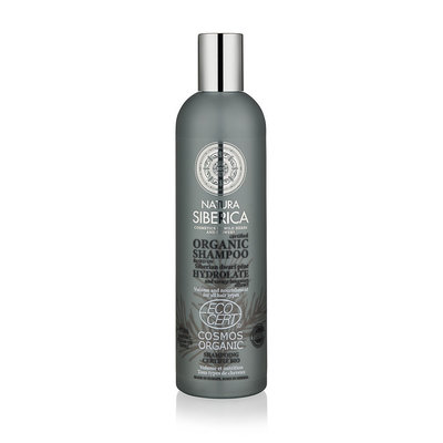 Natura Siberica Certified Organic Shampoo Volume And Nourishment For All Hair Types, 400ml.