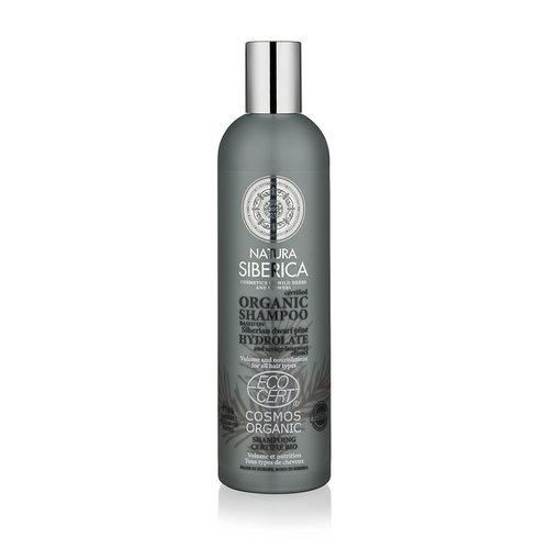 Natura Siberica Certified Organic Shampoo Volume And Nourishment For All Hair Types, 400ml.