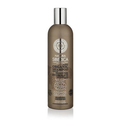 Natura Siberica Shampoo Energy And Shine For Weak Hair 400ml.
