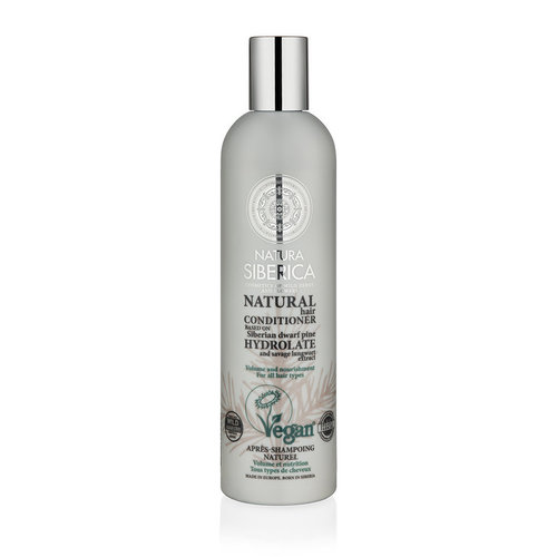 Natura Siberica Certified Organic Conditioner Volume And Nourishment For All Hair Types, 400ml.