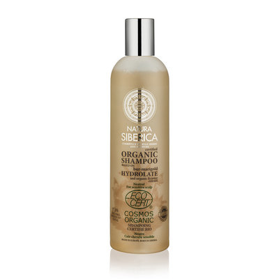 Natura Siberica Certified Organic Neutral Shampoo For Sensitive Scalp 400ml.