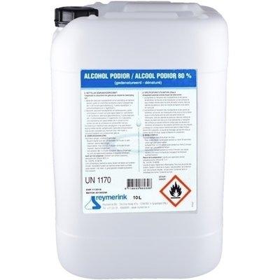 Reymerink Alcohol Podior Desinfectievloeistof  80% 10 Liter