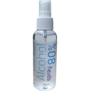 SafeSkin Desinfectie spray met 80% alcohol 100ml