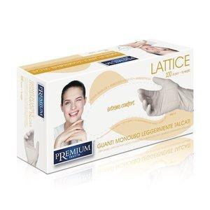 Xanitalia Latex handschoenen gepoederd wit | 100stuks