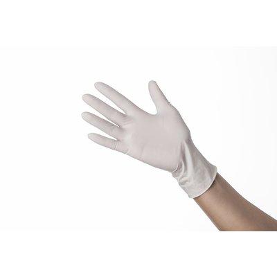 Xanitalia Latex handschoenen gepoederd wit   100stuks