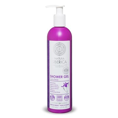 Natura Siberica Shower Gel Firming Skin Anti - Stress 400 ml