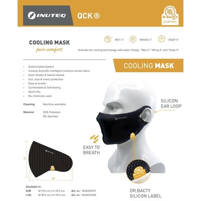 Inuteq Verkoelend & Comfortabel Mondmasker