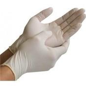 GoldGlove Latex handschoenen 100 STUKS- gepoederd
