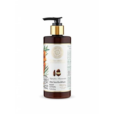 Flora Siberica  Altai Sea-Buckthorn Hydrating Body Lotion, 300 ml