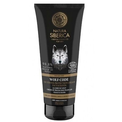 Natura Siberica Wolf code. Outdoor protection cream for face & hands