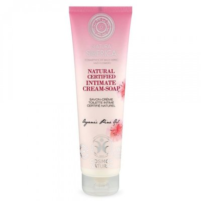 Natura Siberica Natural certified intimate  Cream-Soap, 140ml