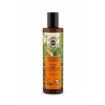 Planeta Organica Biologische Baobab Natural Hair Conditioner, 280 ml