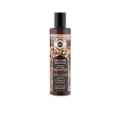Planeta Organica Biologische shampoo  Argan, voor hydratatie en verzorging, 280 ml