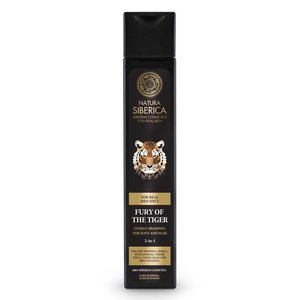 """Natura Siberica Energy Shampoo voor Lichaam en Haar """"Fury of the Tiger"""" 250 ml"""