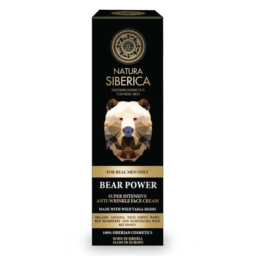 "Natura Siberica Super Intensive Anti-Wrinkle Face Cream ""Bear Power"" 50 ml"
