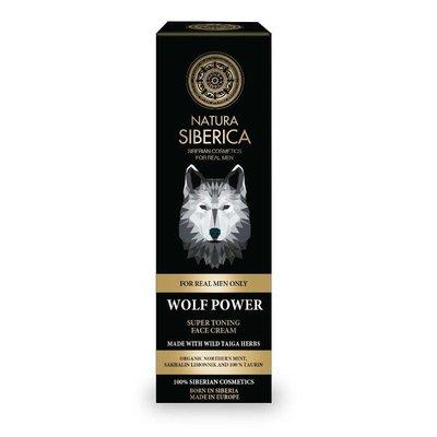 "Natura Siberica Super Toning Face Cream ""Wolf Power"" 50 ml"