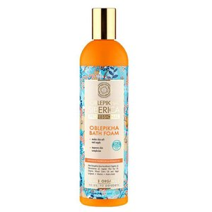 "Natura Siberica Oblepikha Bath Foam ""Intensive Nutrition & Hydration: 550 ml"