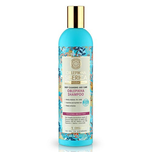 Natura Siberica Oblepikha Shampoo voor normaal en vet haar 400 ml