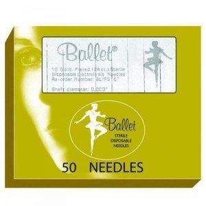 Ballet Technologies Ltd. Ballet naalden goud ongeisoleerd K4