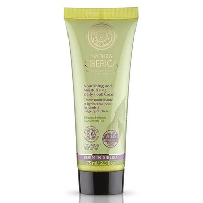 Natura Siberica Nourishing and Moisturizing Daily Foot Cream 75 ml
