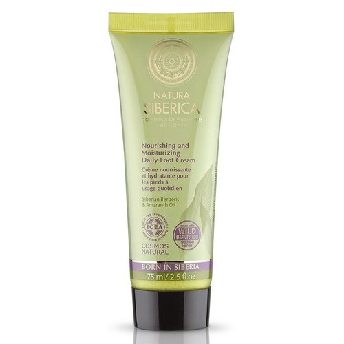 Natura Siberica Nourishing and Moisturizing Daily Foot Cream 75 ml