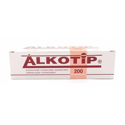 Servoprax Alko-Tip alcoholdoekjes 200 st. (30x65mm)
