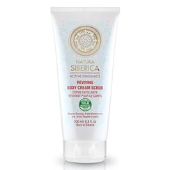 Natura Siberica Reviving Body Cream Scrub 200 ml