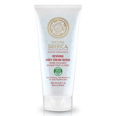 Natura Siberica Natura Siberica Reviving Body Cream Scrub 200 ml