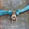 "Catherine Michiels Charm, ""Mano Cornuto"", Bronze"