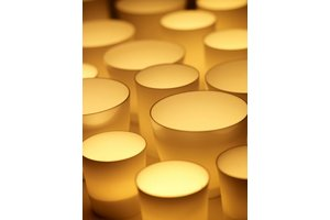 Tea Light Porcelain, D6xH6,5cm