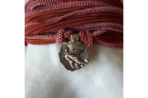 """Catherine Michiels Charm """"Free from Fear"""", Bronze"""