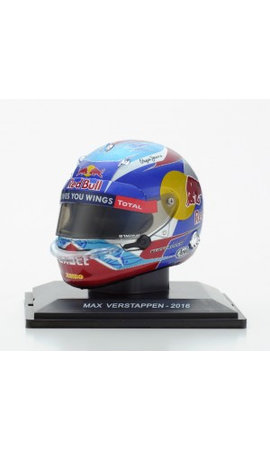 Max Verstappen Helm 1:5 Spanje 1e plaats 2016