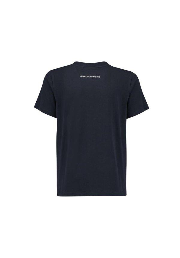 RBR Logo T Shirt blauw MEN