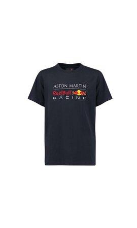 Red Bull Racing RBR Logo T Shirt blauw KIDS