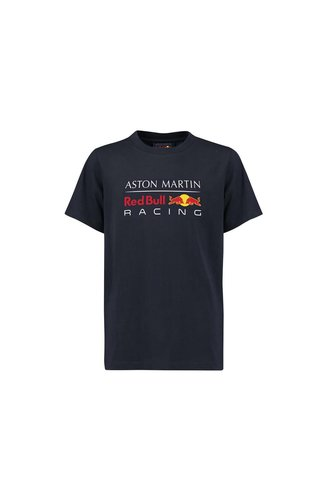 Red Bull Racing RBR Logo T Shirt blauw KIDS