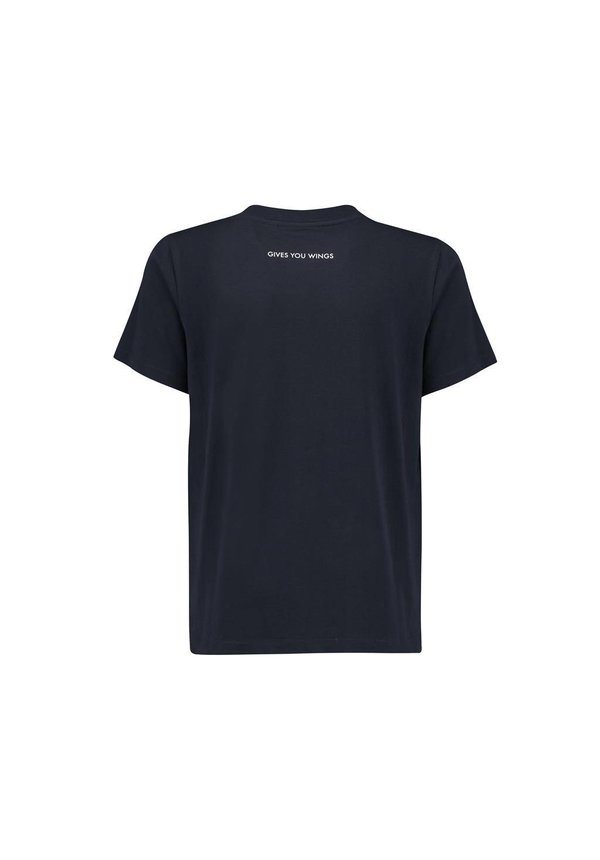 RBR Logo T Shirt blauw   KIDS