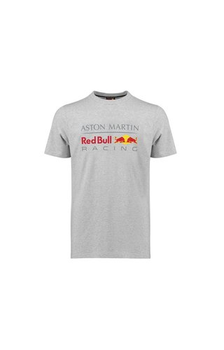 Red Bull Racing RBR Logo T Shirt grijs 2019 MEN